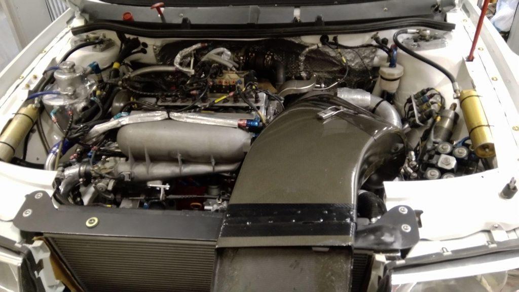 Skoda WRC motorrum
